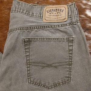 Men's Levi Signature Jeans NWOT